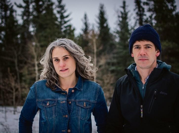 Trundled Folk duo Ellen Braun and Joe Shea.
