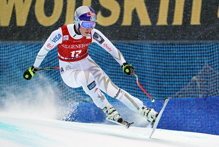 Lindsey Vonn had a rough weekend in Lake Louise.