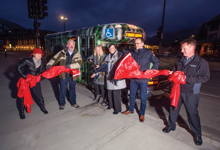 ROAM Bus Routes Ribbon Cutting