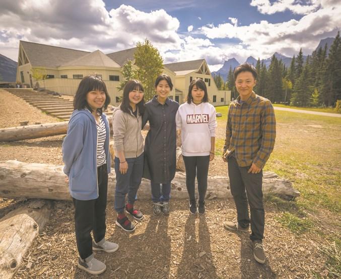 Japanese Exchange Students