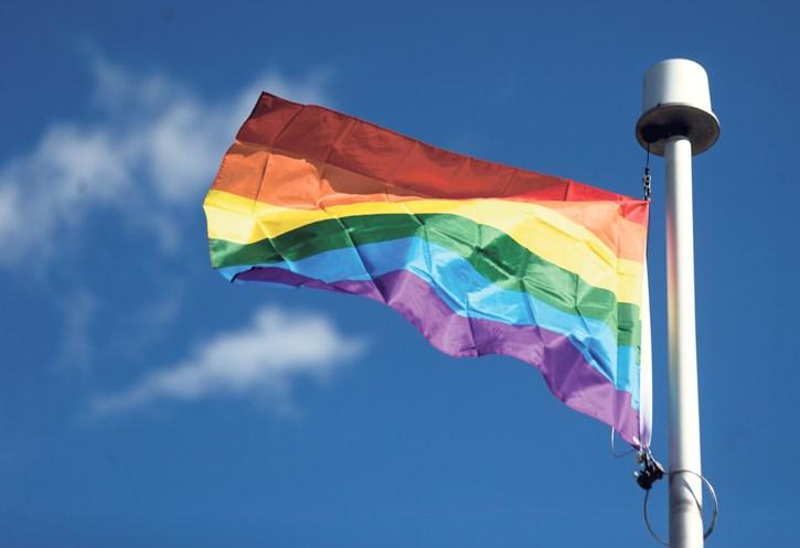 CCHS Pride Flag Raising