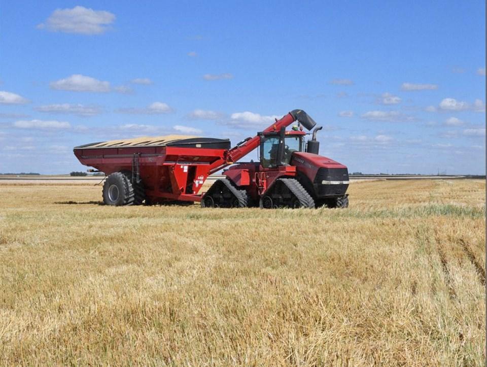 crop report infog harvest 2021