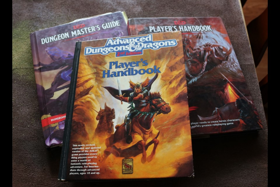 Dundgeons & Dragons has remained a popular role playing game.
