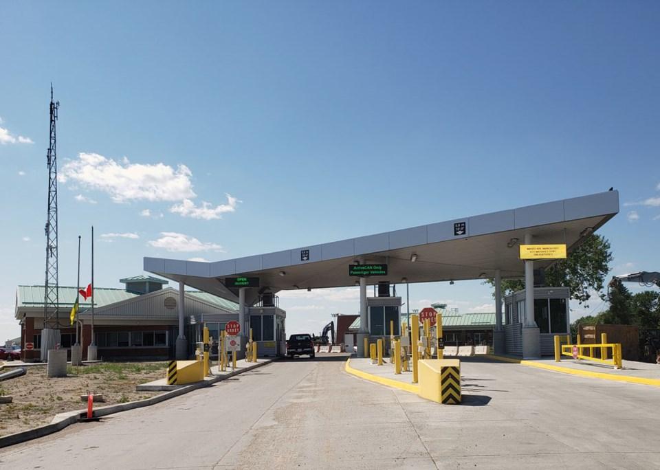 North Portal border crossing