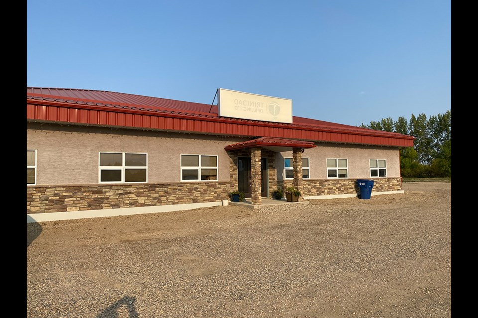 The RM of Moose Mountain's new home.