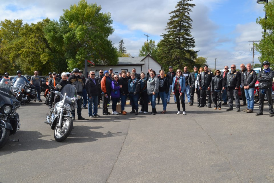 The Prairie Winds Motorcycle Club held its annual Ride for Ronald McDonald House fundraiser on Sunday.