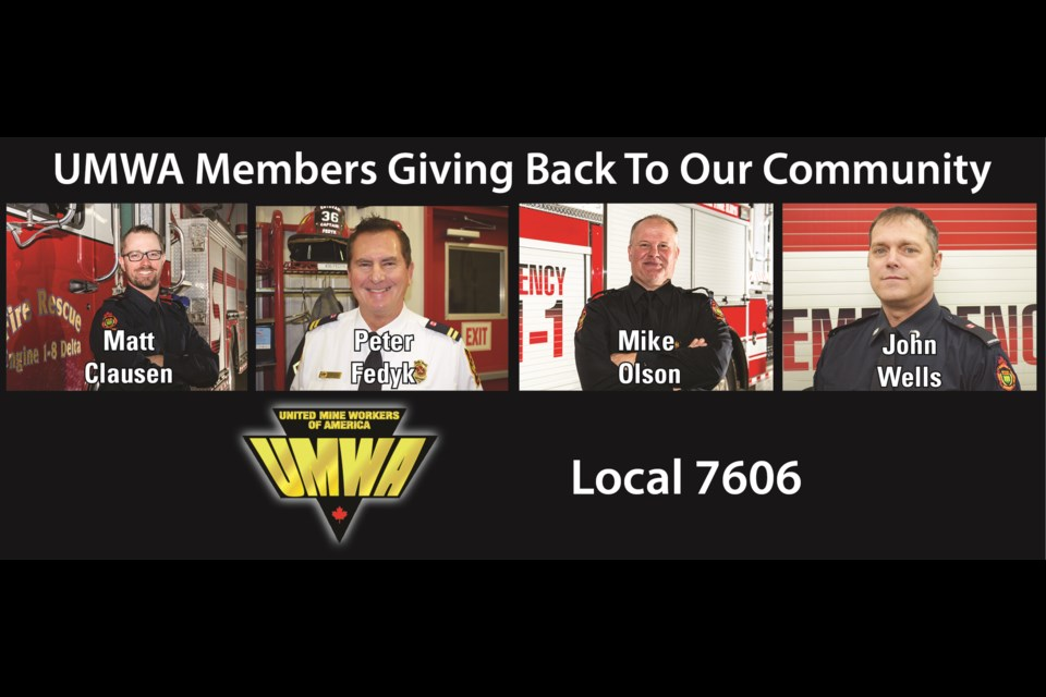 Local businesses and the Estevan Mercury are proud to salute members of the Estevan Fire Rescue Service during Fire Prevention Week.