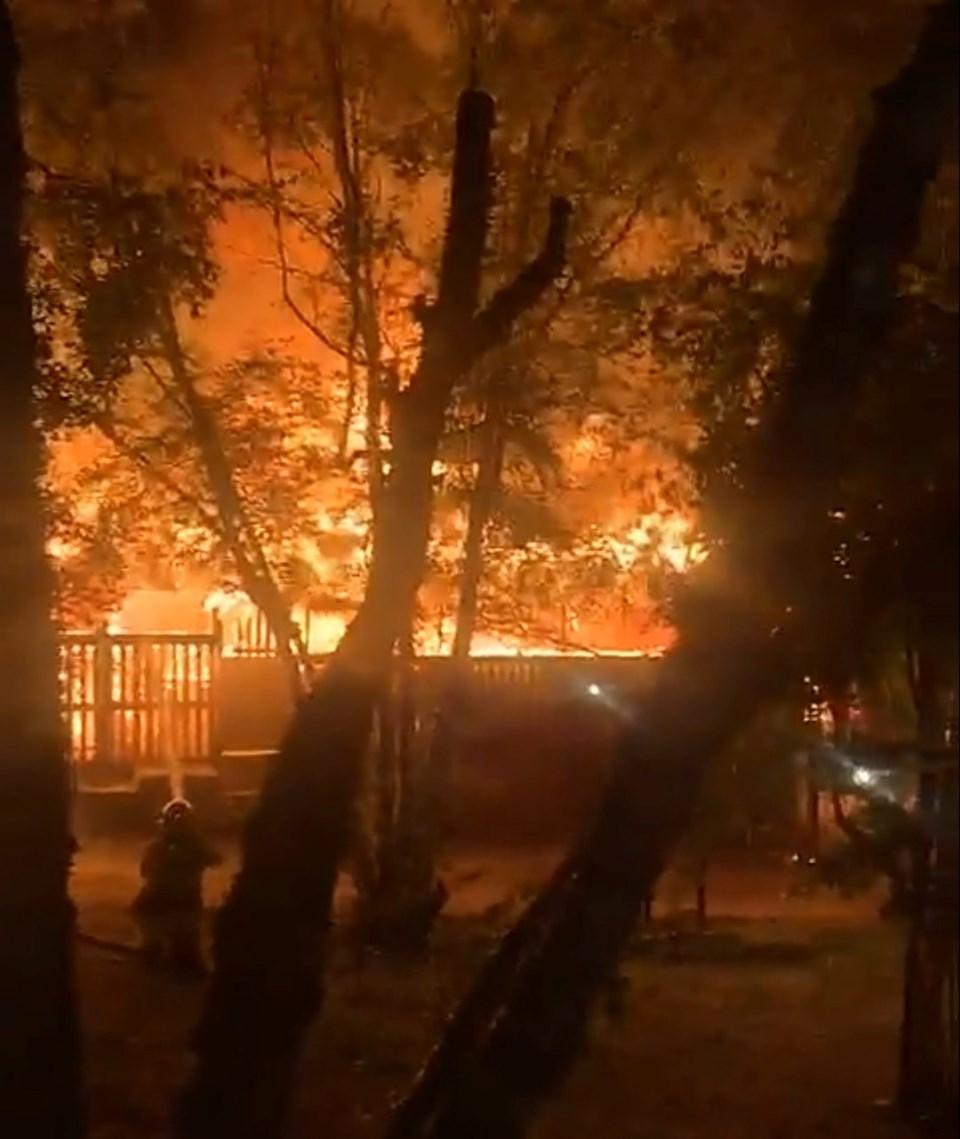 Moosehead Inn Fire