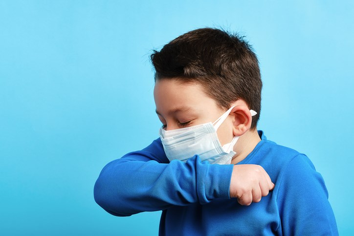kid with a cough