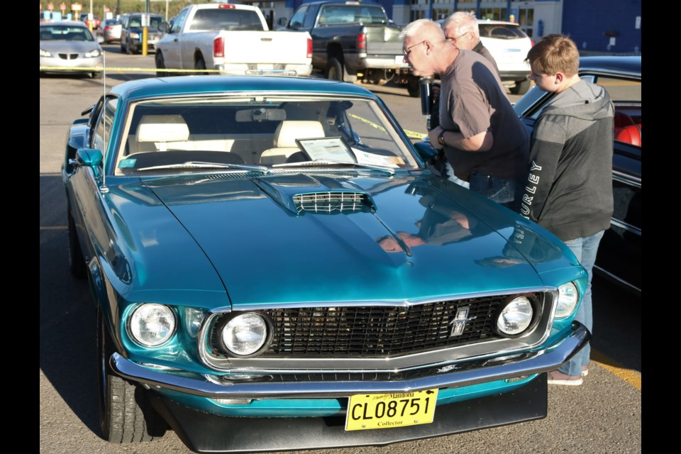 The Show & Shine brought out a range of vehicles for viewers to get a close look at.