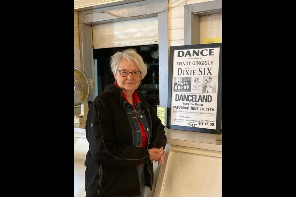 Owner Millie Strueby of the famous Danceland located at Manitou Beach.