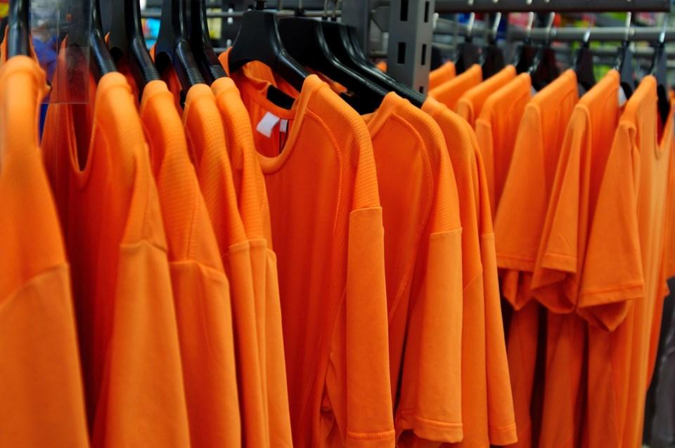Orange Shirts