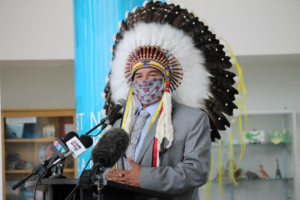 FSIN chief bobby cameron