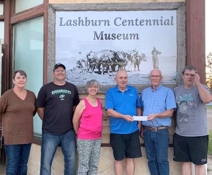 lashburn museum lottery donation