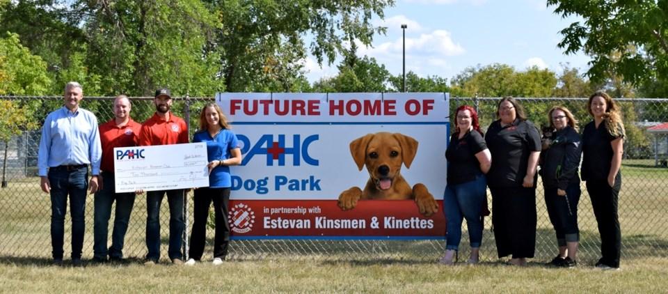 PAHC dog park