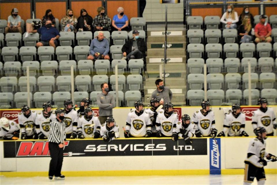 Bears Team bench