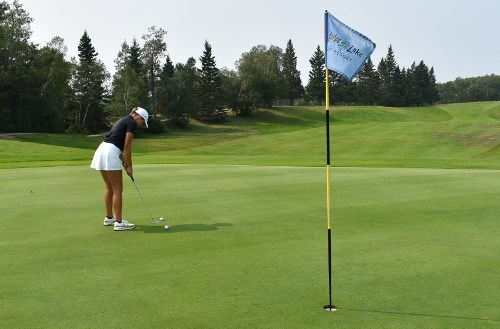 Ella Kozak says one of her favourite Saskatchewan courses to play – Madge Lake Golf Course at Duck Mountain Provincial Park – is both beautiful and challenging with nice layout and greens.