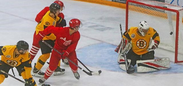 The Weyburn Red Wings hope to do lots of scoring on their Highway 39 rivals this season, like shown here from the 2019-20 season.