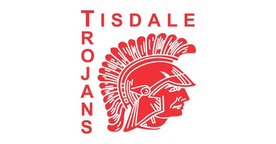Tisdale Trojans Logo
