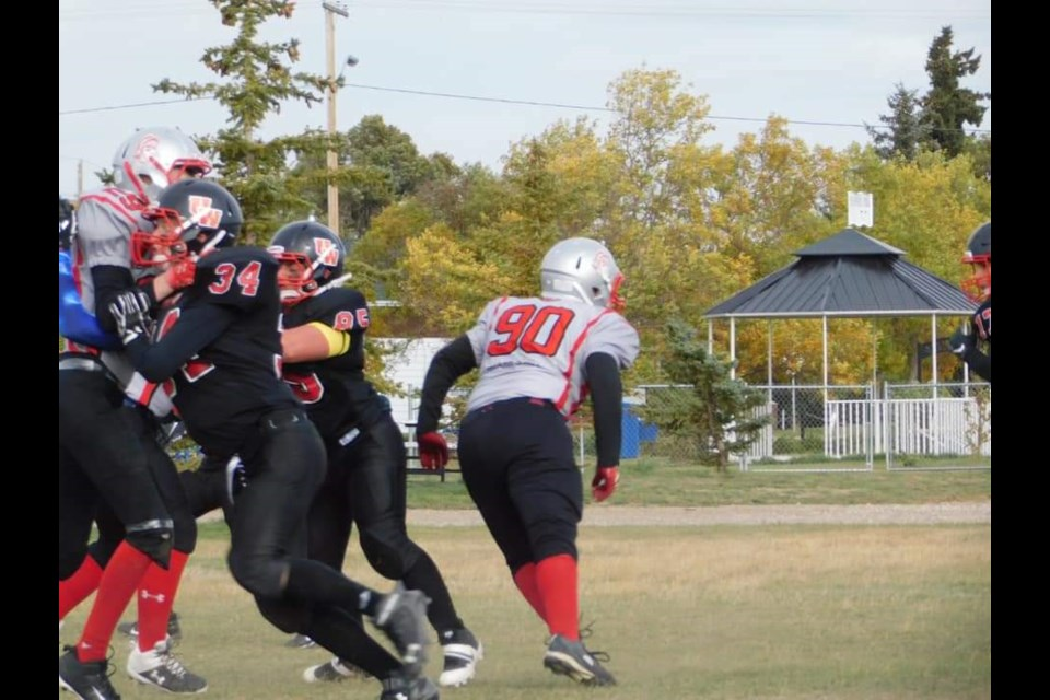 Unity Warriors deliver the block in their defeat of Eatonia on the road in week two of their season.