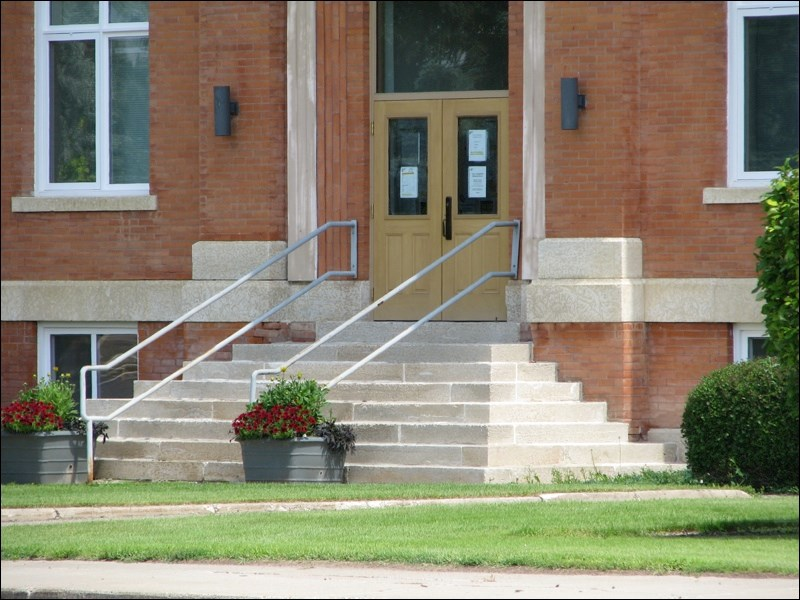 battleford town hall entrance