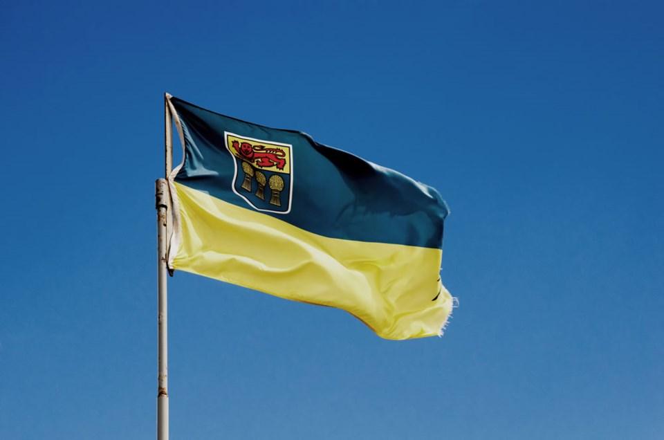 Saskatchewan Flag by Getty Images