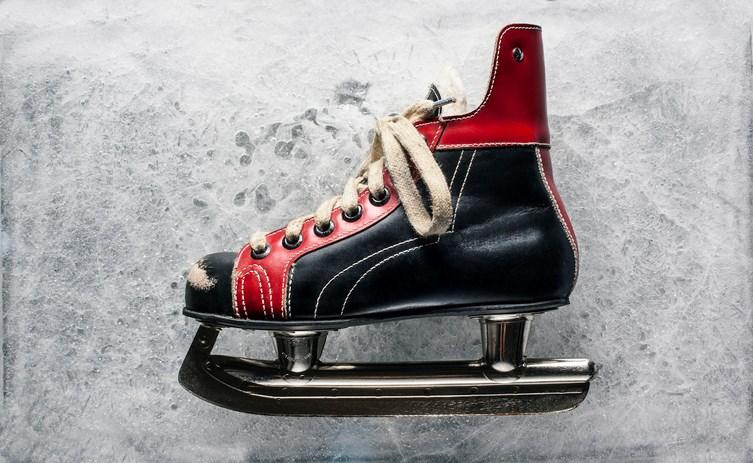 Vintage Boys Ice Hockey Skate