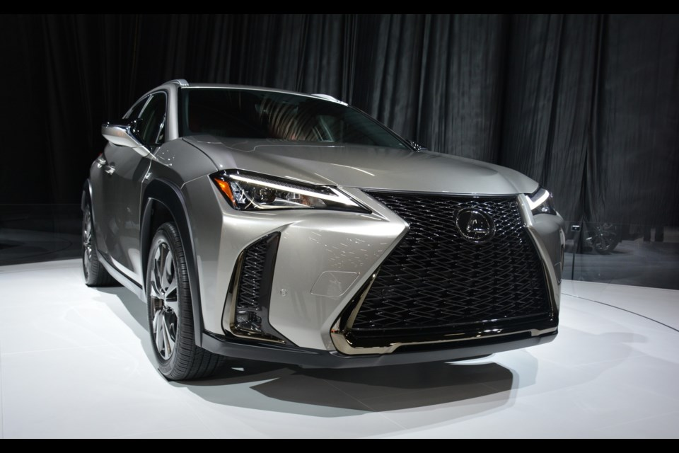 The all-new 2019 Lexus UX. Credit David Miller