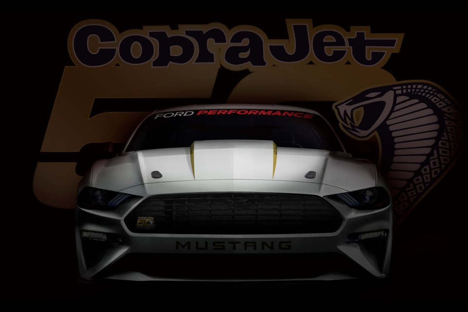 2018 Ford Mustang Cobra Jet Credit Ford Motor Company