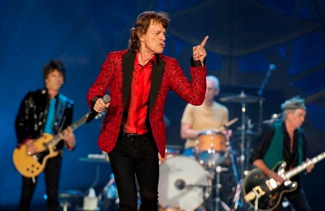Rolling Stones announce stadium tour of Latin America kicking off Feb. 3 in Santiago, Chile