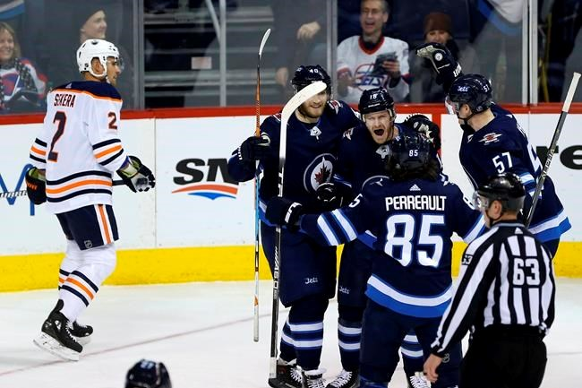 Oilers Win Streak Stopped At Four Games After 4 3 Loss To Jets Sootoday Com