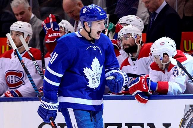 Hyman Scores Late As Maple Leafs Erase Three Goal Deficit To Stun Canadiens Timminstoday Com
