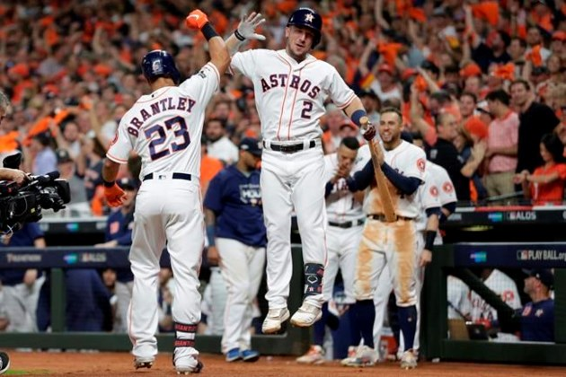 Cole Astros Beat Rays 6 1 In Alds Game 5 Yankees Next