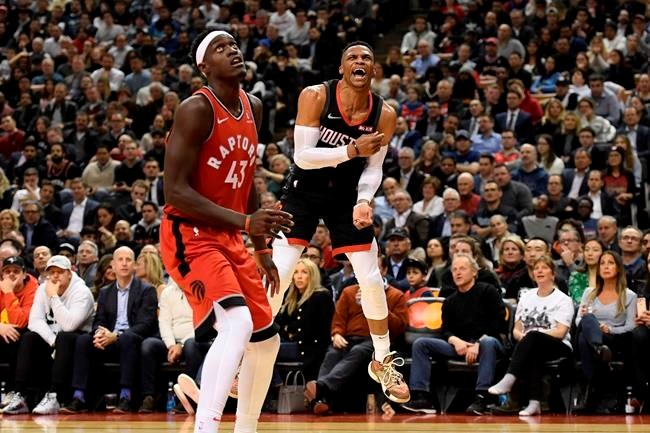 Raptors Handle Harden But Can T Corral Rest Of Rockets In