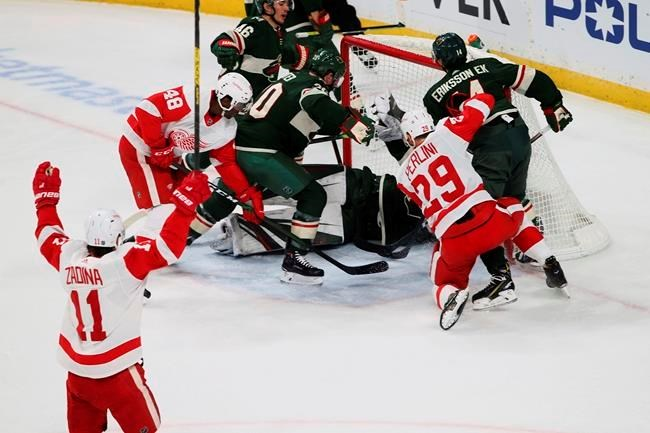 Staal Zuccarello Lead Wild Past Red Wings 4 2 Guelphtoday Com