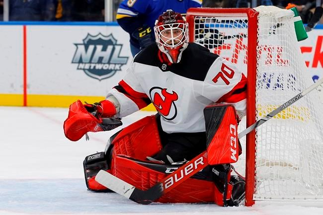 Vancouver Canucks Acquire Goalie Louis Domingue In Deal With New Jersey Devils Townandcountrytoday Com