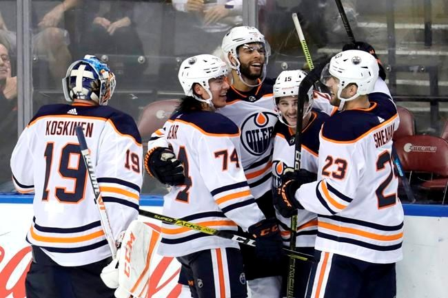 [Oilers centre Leon Draisaitl named National Hockey League first star of week]