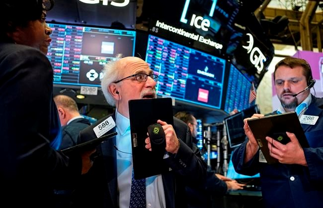 NY stocks plunge almost 1,200 points