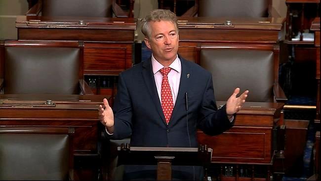 Rand Paul is 1st senator to report positive test for virus