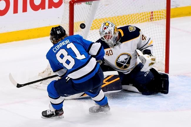 Kyle Connor S Two Goals Power Winnipeg Jets Past Buffalo Sabres 3 1 Princegeorgematters Com