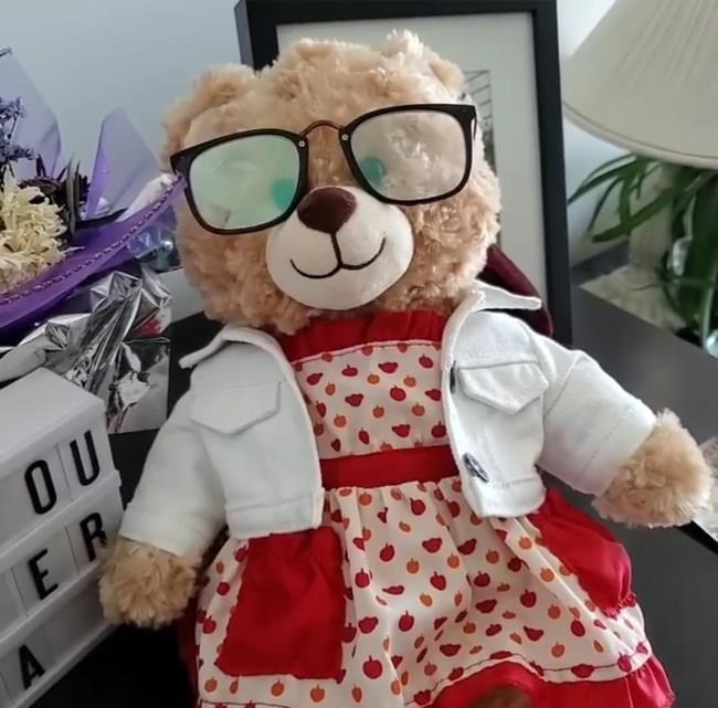 Vancouver resident finds lost teddy bear containing her mother's voice recording