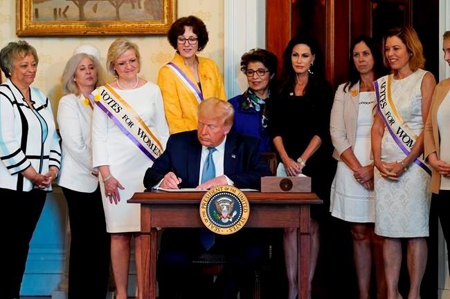 Tue. 9:38 am: Trump to pardon women's suffrage leader Susan Anthony
