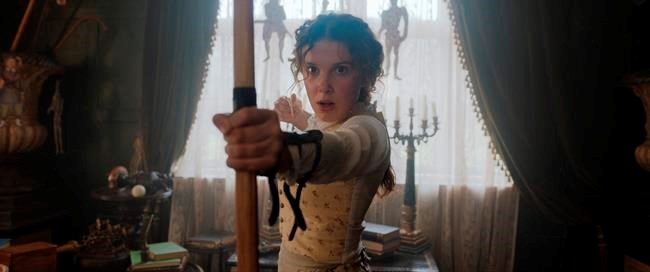 Review: Millie Bobby Brown has fun with 'Enola Holmes' thumbnail