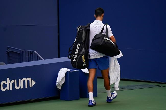 Djokovic Out Of Us Open After Hitting Line Judge With Ball Lakelandtoday Ca