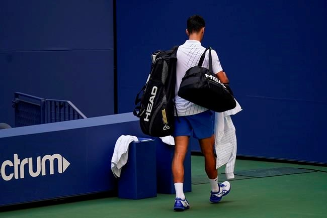 Djokovic Out Of Us Open After Hitting Line Judge With Ball Pique Newsmagazine