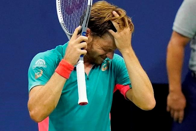 Djokovic Out Of Us Open After Hitting Line Judge With Ball Collingwoodtoday Ca