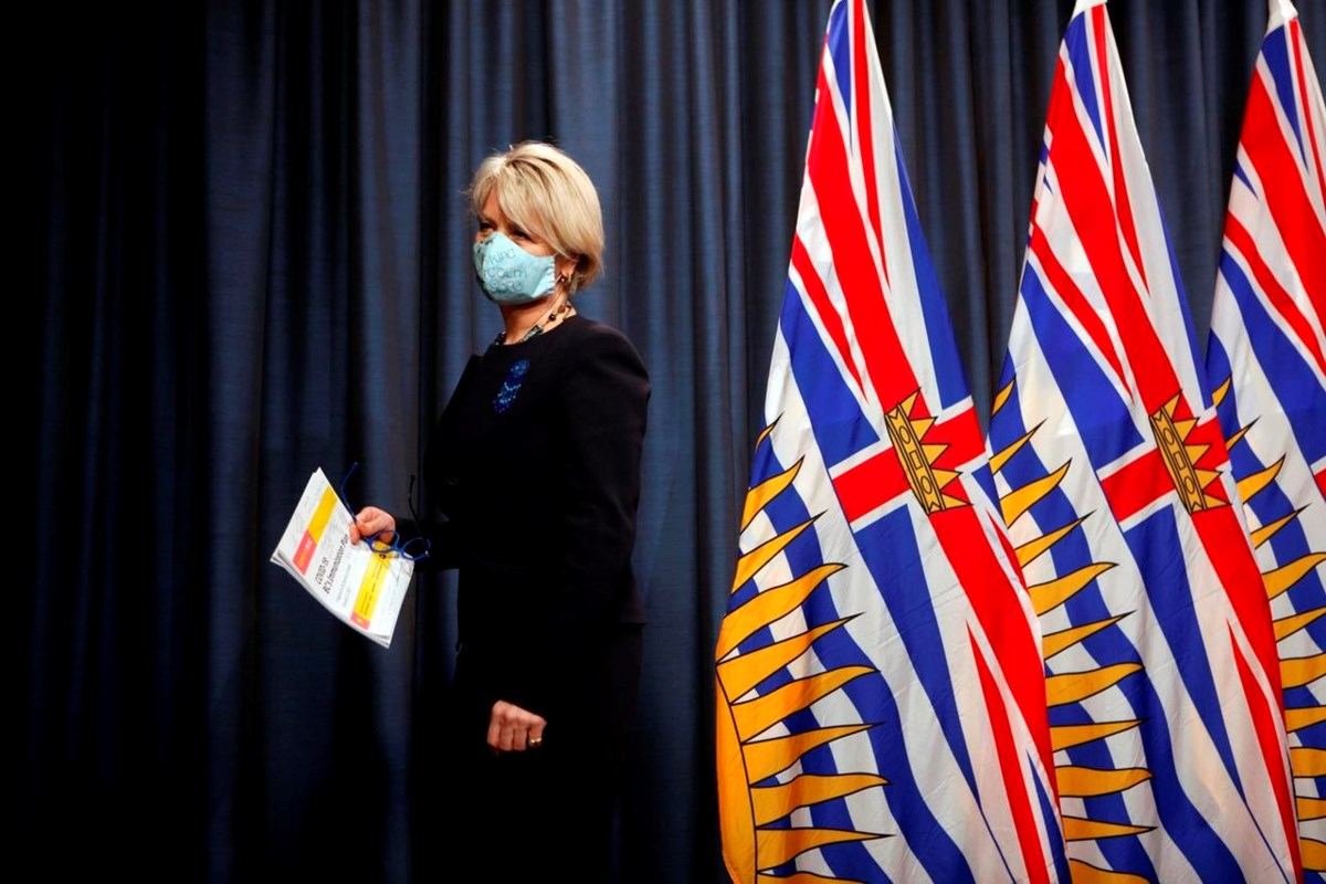 B.C. records 449 more cases of COVID-19 and another nine deaths