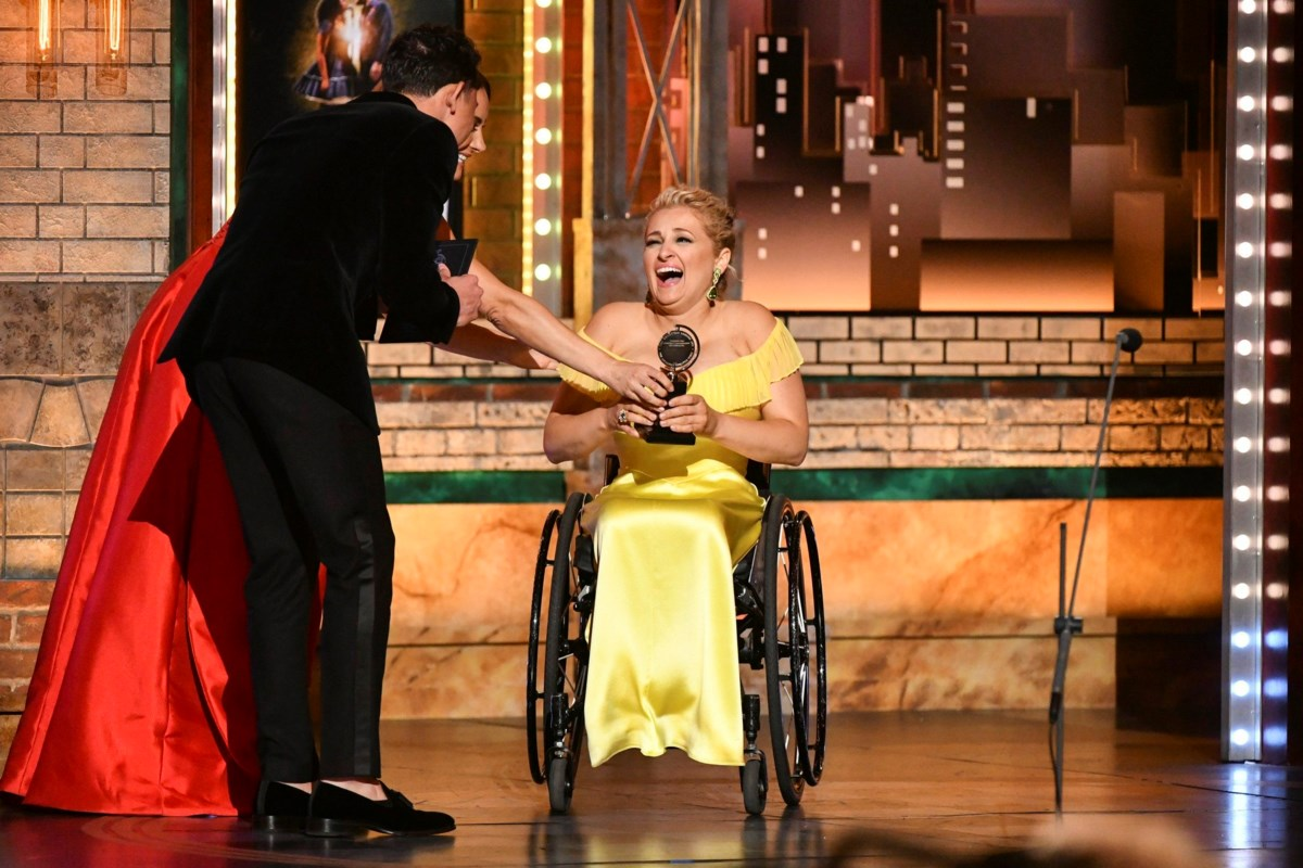 Singer with disability shines in Ali Stroker's new kids book