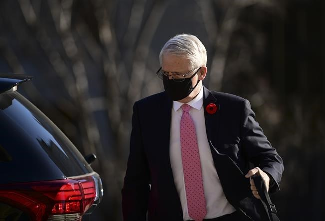 Garneau to quarantine in hotel after returning from G7 ministers' meeting in U.K.