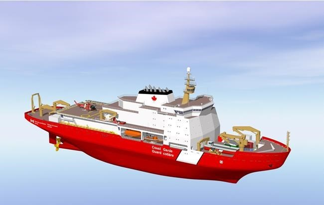 B.C., Quebec shipyards each get new icebreaker, Liberals accused of electioneering